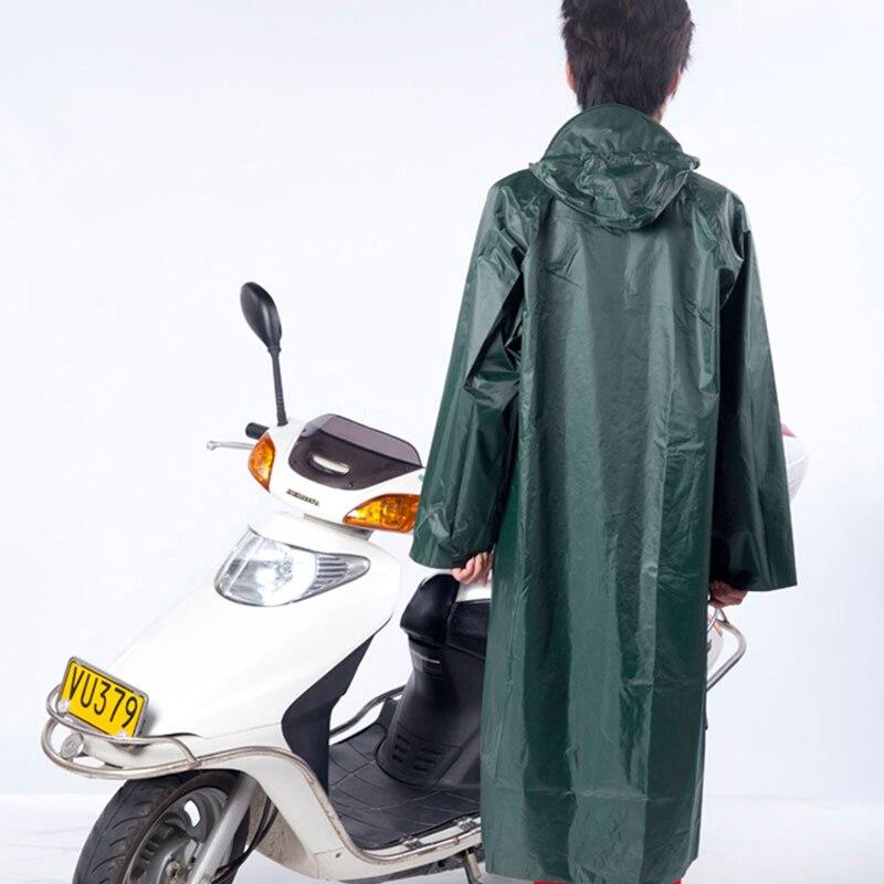 Waterproof Raincoat Men Rain Coat Poncho Long Cape De Pluie Chubasqueros Travel Rainwear Impermeable Rain Regenjas QQG369