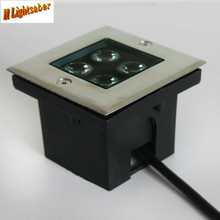 Underground  Light  Square 4w 1W High Power LED optional colorY/WW/NW/CW AC85-265V bar/stage/garden floor outdoor lighting