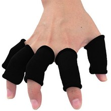 10pcs New Sport Protective Finger Band Bandage Support Basketball Volleyball Fingerstall Sleeve Adult Universal