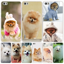 dogs perro pomeranian puppy cute cell phone Cover Case for huawei honor 3C 5A 4A 4X 4C 5X 6 7 8 Y6 Y5 2 II Y560