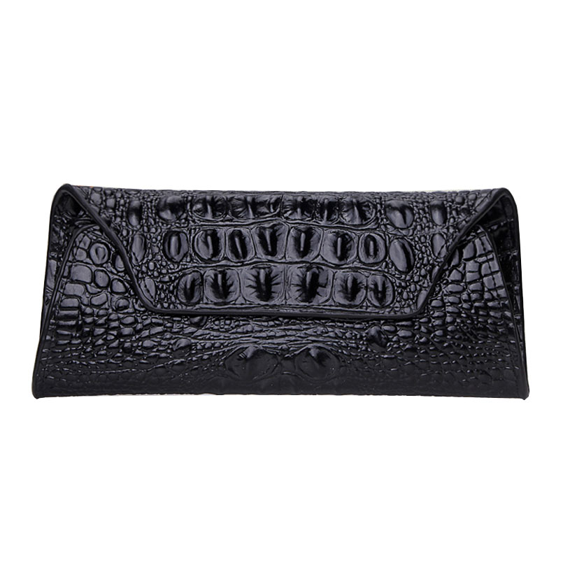 Women Luxury Brand Magic Long Wallet Split Leather Clutch Crocodile Pattern Coin Purses With Card Holder and Phone Pocket<br><br>Aliexpress