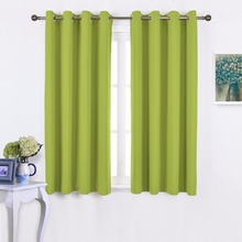 NICETOWN Ready Made 1 Piece Solid Color Thermal Insulated Blackout Curtains With Grommet Top For Living Room  For Bedroom Window