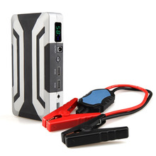 New Design 18000mah Super Capacity Multi-Function 12V Car Jump Starter Power Bank Car Battery Charger Petrol 8.0L Diesel 6.0L(China)