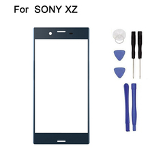 10pcs/lot New Touch screen For SONY Xperia XZ F8332 touch Screen Digitizer Front Glass Touch Panel Replacement + tool(China)