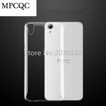 MPCQC Mobile Phone Case For HTC Desire 626 626G Ultra-thin Transparent Soft TPU Crystal Phone Case For HTC 626 626G Back Cover(China)