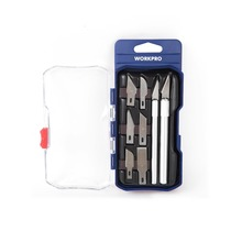 WORKPRO 8PC Art Craft Knife Metal Scalpel Knife Tools Kit Cutter Engraving Craft knives(China)
