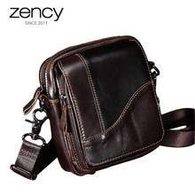 2017 New Arrival Fashion Clutch High Quality Genuine Leather Shoulder Bag Men's Totes Handbags Hot-Selling Crossbody Small bale(China)
