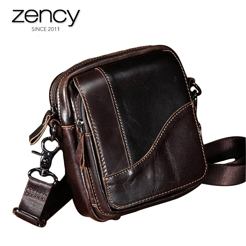 2018 New Arrival Fashion Clutch High Quality Genuine Leather Shoulder Bag Mens Totes Handbags Hot-Selling Crossbody Small bale<br>