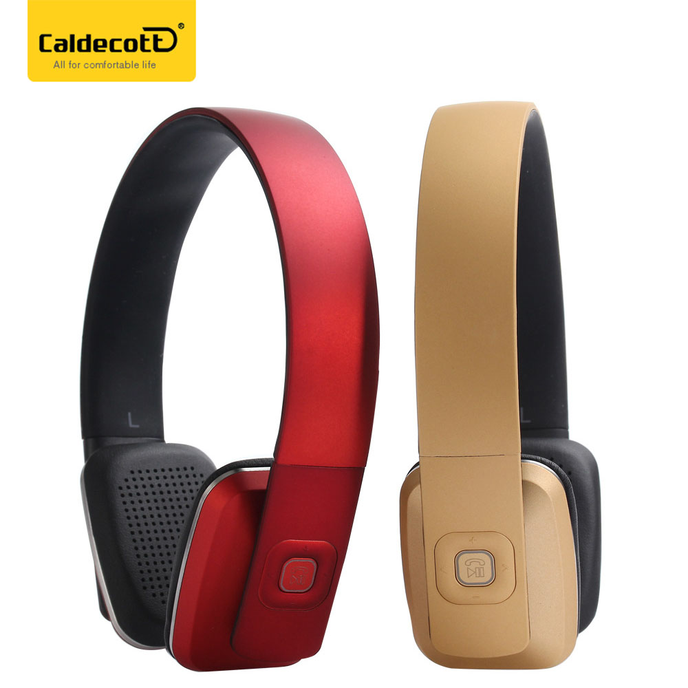 Fashion Wireless Bluetooth 4.1 Headphones Headband Adjustable Stereo Sports Headset With Mic For Your Mobile Phone<br>