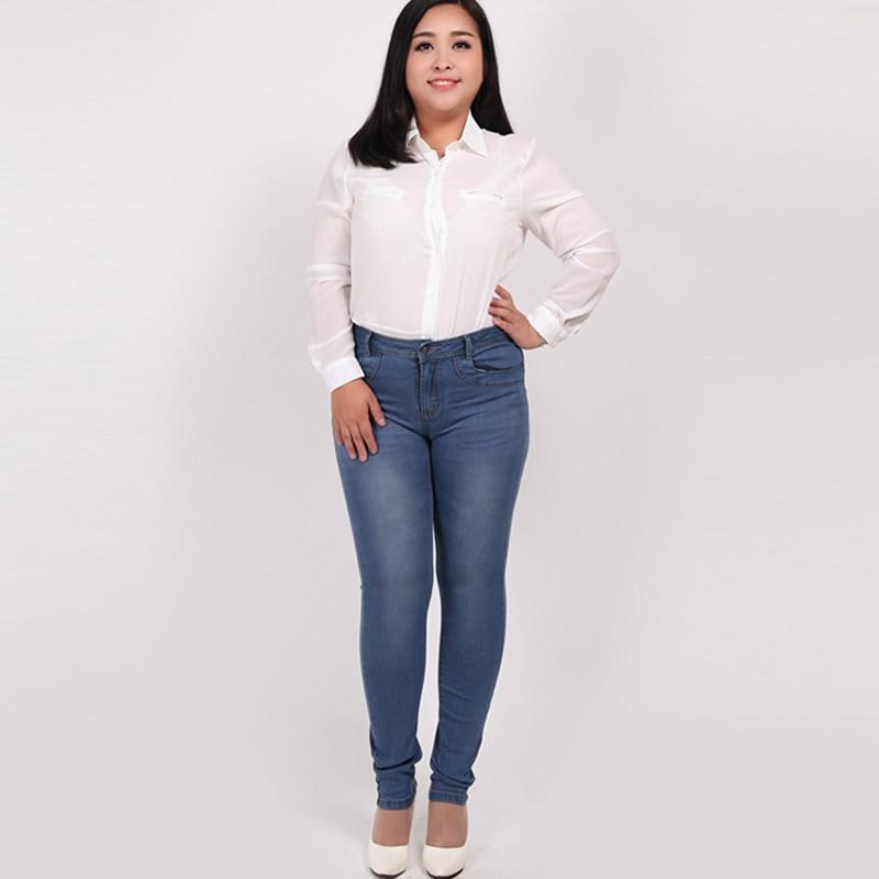 High quality spring winter women jeans pants plus size 32-42 ladies skinny stretch denim pants trousers leggings female pantalonОдежда и ак�е��уары<br><br><br>Aliexpress
