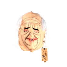 Full Head Old Mand Rubber Latex Mask Movie Mask Party Masks Horror Masquerade Adult Ghost Halloween Props Costumes Fancy Dress