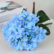 5pcs Wholesale 6 hydrangea simulation flowers silk flower decorative flowers placed in the living room at home
