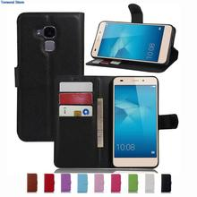Wallet Case For Huawei 7 lite GT3 Honor 5c PU Leather Kickstand Back Shell Pink Rose Green Purple Blue Black White Brown