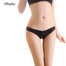 Buy Sunfree Sexy Sexy Women G String Underwear Lady's Thongs Lady Panties Lace Lingerie Brand New High Quality Nov 23