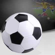 2017 1 Pcs Teenagers Training Balls Children Training School Sports Football Soccer Game Size 4 Black
