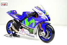 Maisto 1:10 Yamaha YZR-M1 Team Valentino Rossi No 46 MotoGP 2016 NEW MOTORCYCLE BIKE Model FREE SHIPPING
