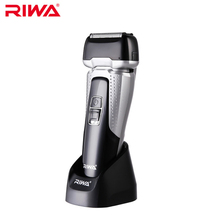 RIWA RA-5501 Rechargeable Washable Electric Shaver For Men Three-bit Rapid Reciprocating Blades Shaving Razor 1.5h Fast Charge