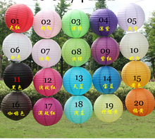 Free shipping Wedding lantern 16''(40cm) Chinese Paper Lantern Lamp Festival&Wedding Party Decoration,100 pcs/lot,20 colors