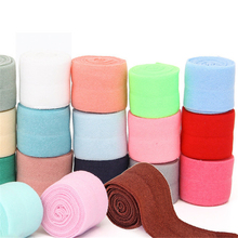 1mter Nylon Spandex Webbing Ribbon Binding Tapes Elastic Band Bags' Sewing Cloth 2cm(China)