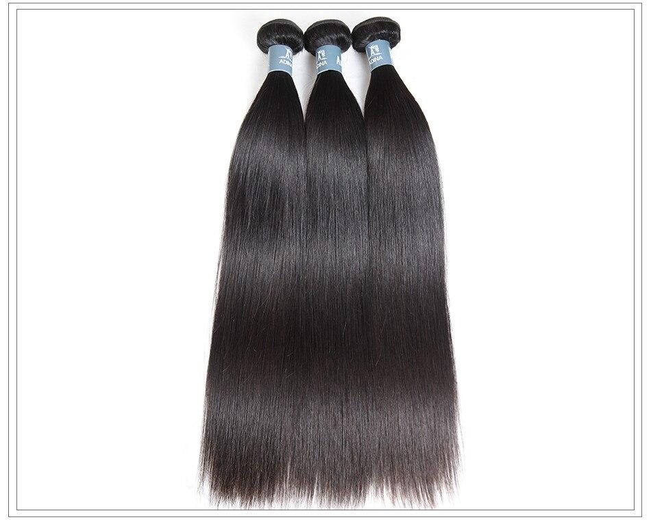 Amanda virgin hair weave straight13