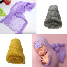 2017 Hot Sale Newborn Photography Props Cotton Recien Nacido Cloth Soft Baby Photography Props 40X60CM Art Mohair Wrap Beautiful