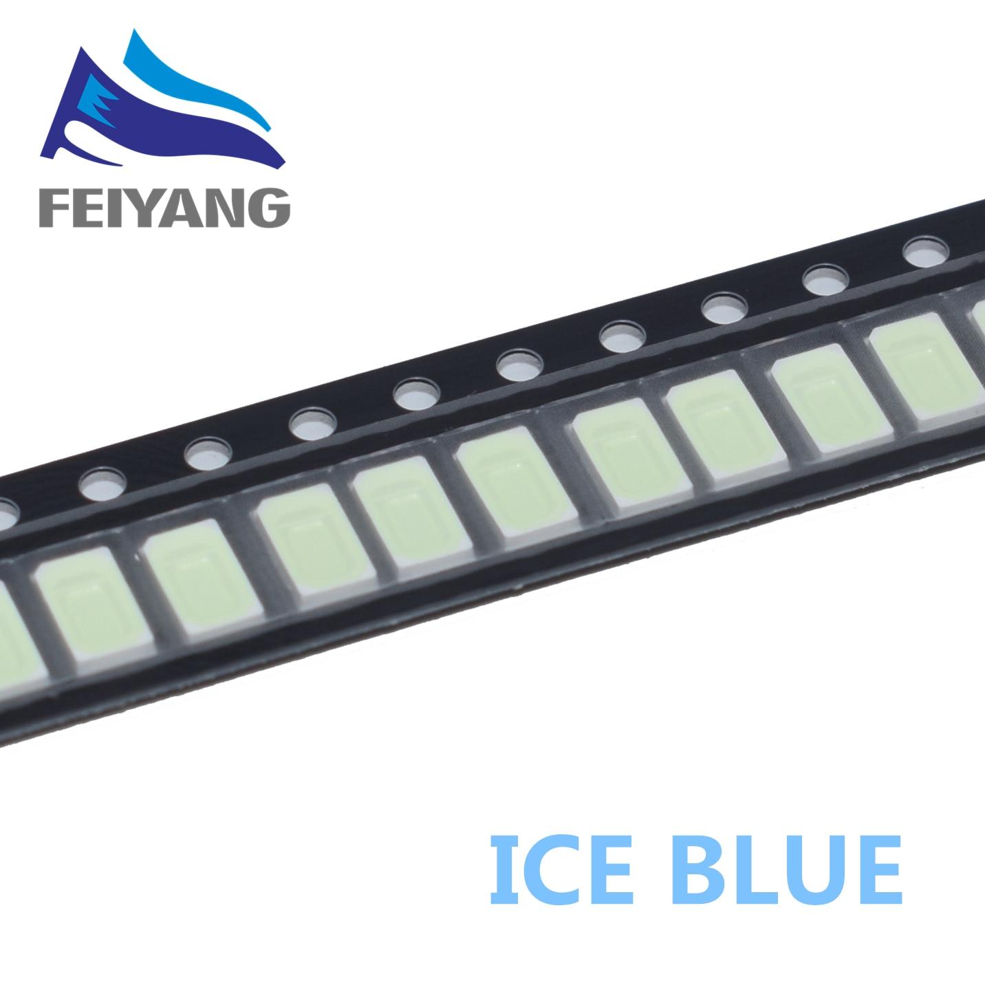 50pcs XIASONGXIN LIGHT 5730 diode Ice blue SMD LED 5630 Light emitting Diode