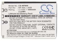 Battery For ROLLEI For Compactline CL-103, CL-110, CL-203, CL-82 SE, DS6, For Prego DP4200, DP5200, DP5700, DP6200, RCP-8325XS(China)