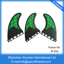 Future Fin G5 Size Green Honeycomb Fins Carbono Surf Fins New Design Future Surfboard Fins