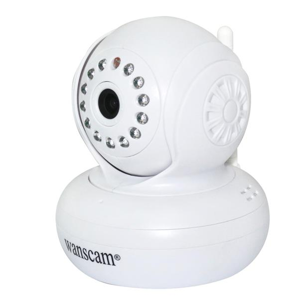 1.0MP 720P HD Wireless Ip Camera WI-FI Infrared Pan/tilt Security Camera Wifi Camera, Night Vision<br>