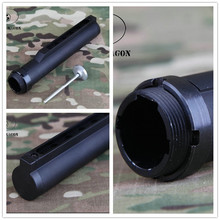 Tactical connection 6-Position Stock Pipe for Airsoft M4 series AEG Hunting Gun Accessories