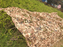 Promotion!!!1x2M Outdoor Sports Camouflage Net Camo netting Hunting Military airsoft paintball concealment for hunting blind(China)
