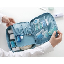Portable Women Makeup Bag Cosmetic Case Beauty Case Make Up Organizer Toiletry Bag Kit Storage Travel Wash Pouch Waterproof(China)