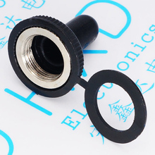 12 mm diameter toggles waterproof cap The rocker button switches dust cap(China)
