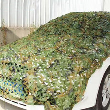 Camouflage Army Military Camo Net Car Covering Tent Hunting Blinds Netting Jungle/Desert/White Cover Conceal Drop Net popular(China)