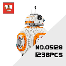 Lepin 05128 Star Plan Series War the Double B 8 Robot Set 75187 Building Blocks Bricks Children Toys as Christmas Birthday Gift(China)