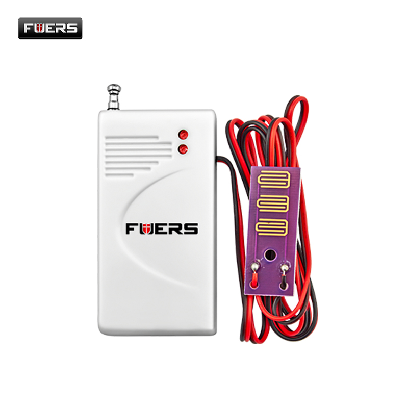 Fuers 433Mhz Wireless Water Intrusion Detector Water Leak Sensor Work Gsm Pstn Sms Home Security Water Leak Detector