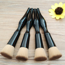 Foundation 4pcs Proessional Body Curve Makeup Brush Cosmetic Brushes Powder Blusher Eyeshadow Face Pincel Tools
