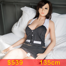 135cm Top Quality Lifelike Real Silicone Sex Dolls, Full Size Love Dolls, Life Size Dolls for Sale,Vagina Pussy Anal Real Doll