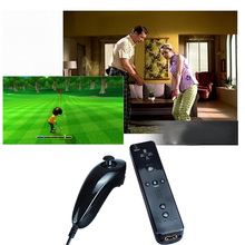 New Remote Game Handle controller 100% Brand Nunchuk Nunchucks Game Controller for Nintendo Wii