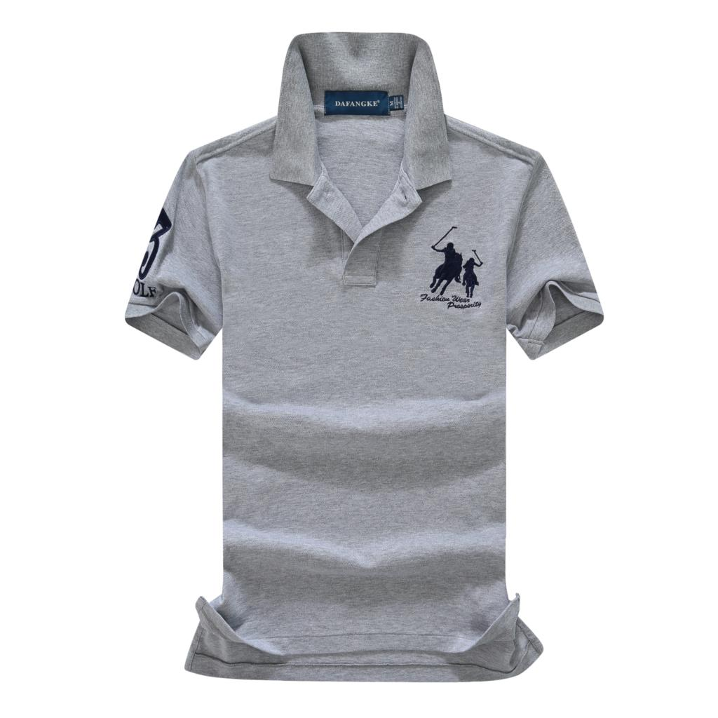 On sale 16 Colors 2019 summer 100% mesh cotton Big horse mens short sleeve polos mens shirts tops No.3 embroidery logo 10