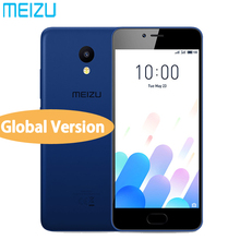 "In Stock Original MEIZU M5C Global Version 4G LTE 2GB RAM 16GB ROM Cell phone Quad Core 5.0"" HD IPS BLUETOOTH GPS 8.0MP camera(China)"