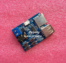 1pcs TF card U disk MP3 Format decoder board module amplifier decoding audio Player