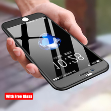 Buy 360 Degree Full Body Protection Phone Cases Iphone 5 5S SE Cover Tempered Glass Iphone 6 6S 7 8 Plus Case IphoneX for $2.99 in AliExpress store
