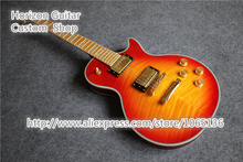Custom Design OEM Electric Guitar Supreme Flame Maple Fingerboard CS Color