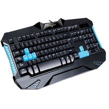 Metoo Gaming similar mechanical feel keyboard 87/104 anti-ghost light blue red black switch backlit LED wired keyboard sticker