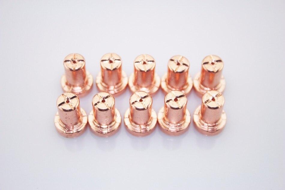 100pcs Extended Long Tips For 40A PT-31 Air Plasma Cutter 40D CUT40 50D CUT50<br><br>Aliexpress