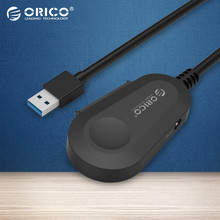 ORICO  25UTS-BK Sata To USB 3.0 Support SATA 1/2/3 Hard Disk Drive SSD 7+15pin Built-in 20cm Cable for 2.5 inch HDD/SSD Hot Plug
