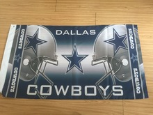 Dallas Cowboys Flag 3 x 5 FT 100D polyester Banner NFL brass metal holes 103