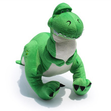 "Free Shipping 5Pcs/lot Toy Story Plush Toys 10""26cm Rex Dinosaur Plush Dolls Soft Toy"