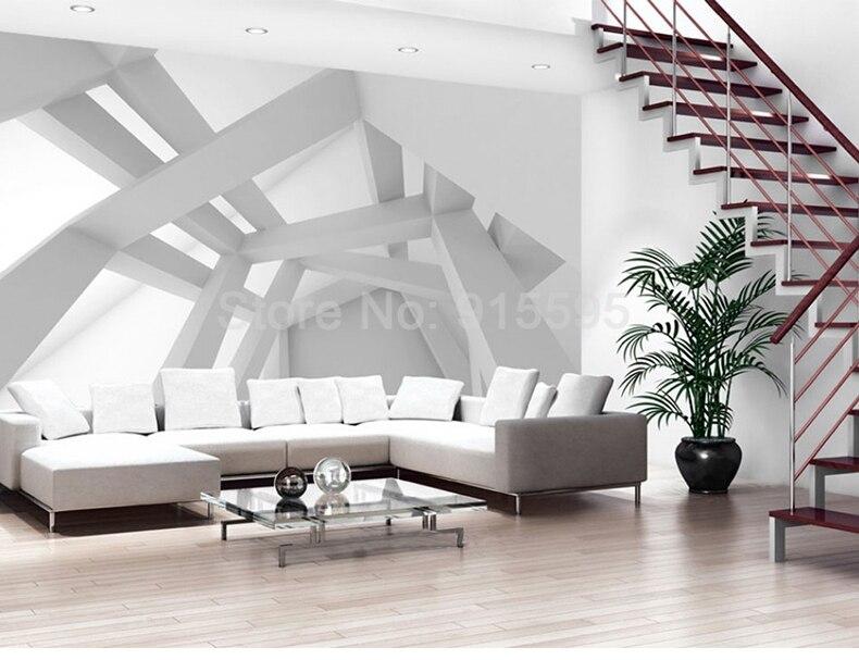 Custom 3D Photo Wallpaper Modern Art Abstract Geometric Pattern Wall Painting Mural